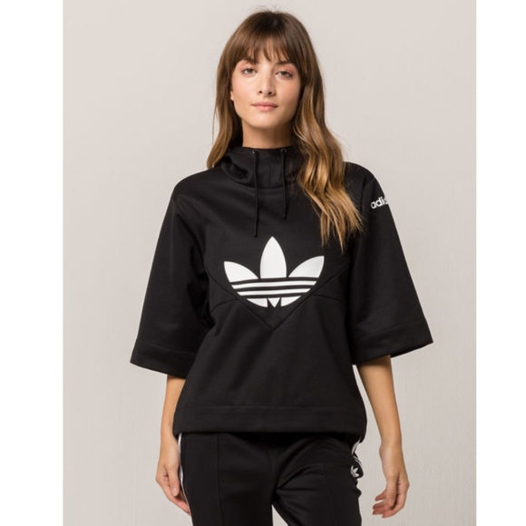 3eda1394f9 adidas Tops   New Clrdo Womens Hoodie Size Xs Black   Poshmark
